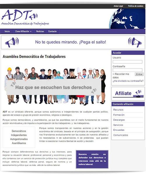 Diseño Web Sindicato Policía Local