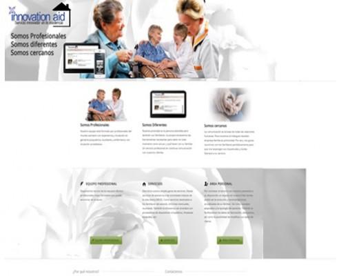 Diseño Web página asistencial