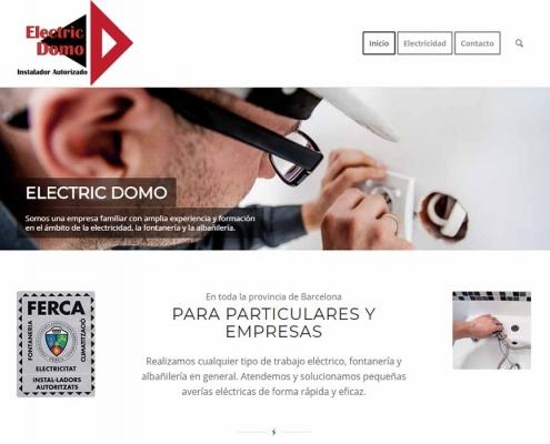 Diseño Web electricista