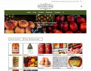 Diseño web ecommerce fruteria